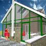 Maison extension en bois